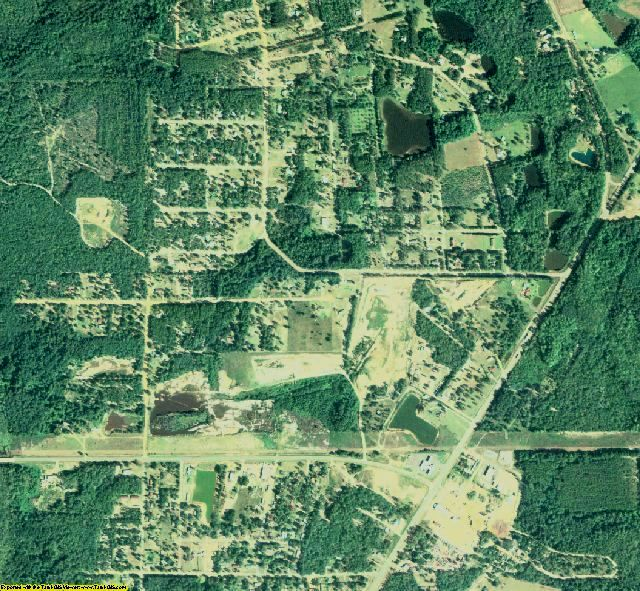 Coffee County, GA aerial photography detail