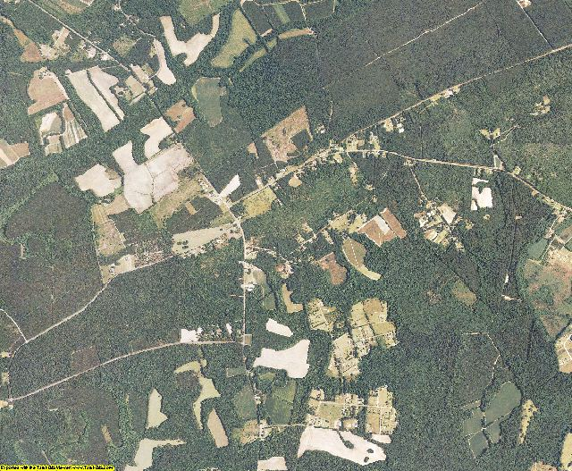 Colleton County, South Carolina aerial photography