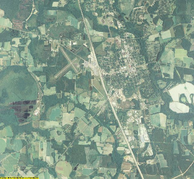 Cook County, Georgia aerial photography