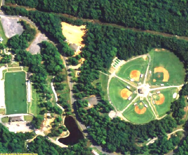 Coosa County, AL aerial photography detail