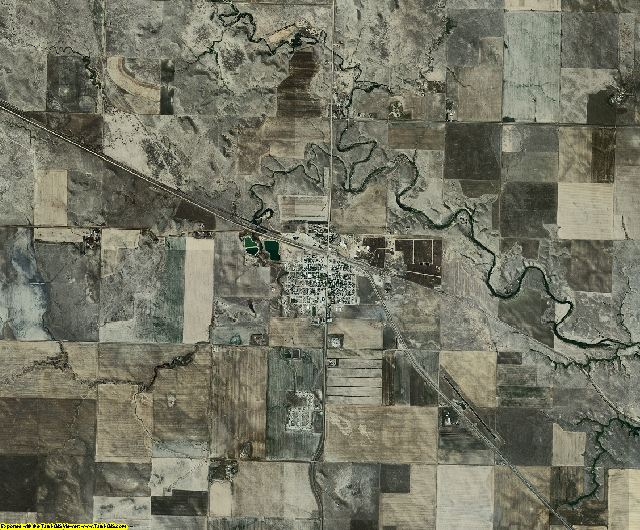 Corson County, South Dakota aerial photography