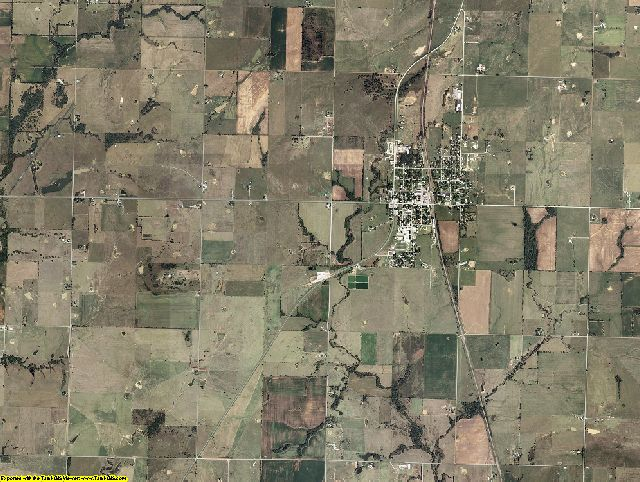 Craig County, Oklahoma aerial photography