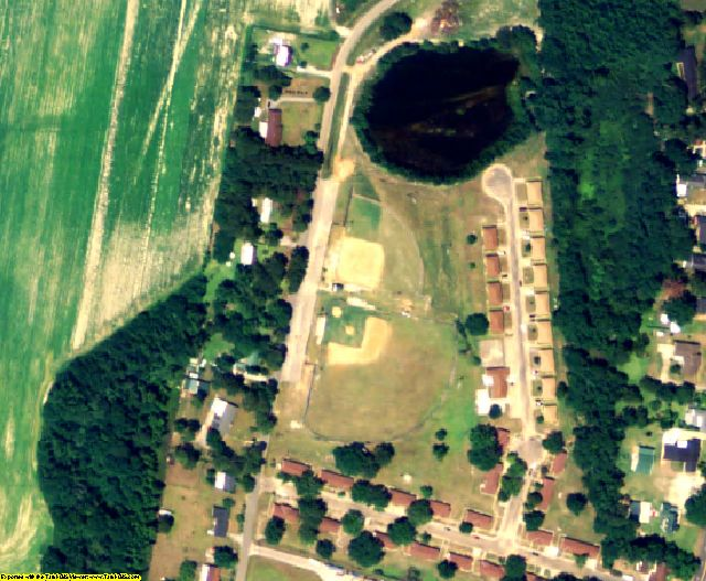 Crenshaw County, AL aerial photography detail