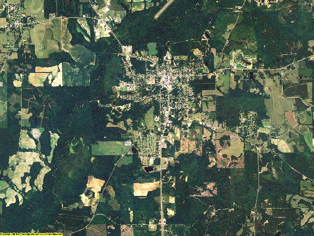 Crenshaw County, Alabama aerial photography
