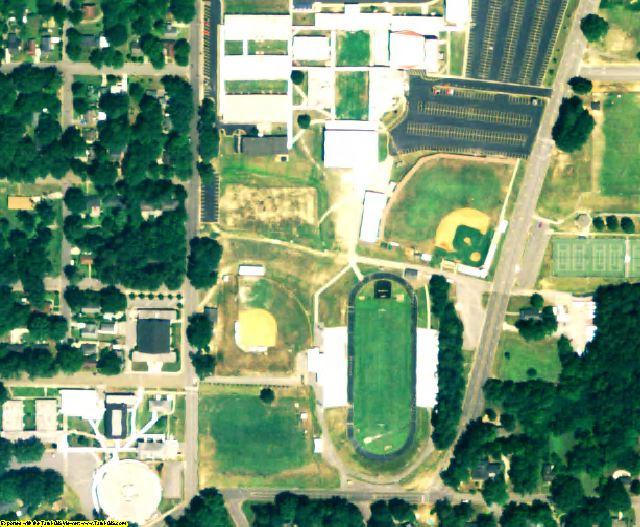 Cullman County, AL aerial photography detail