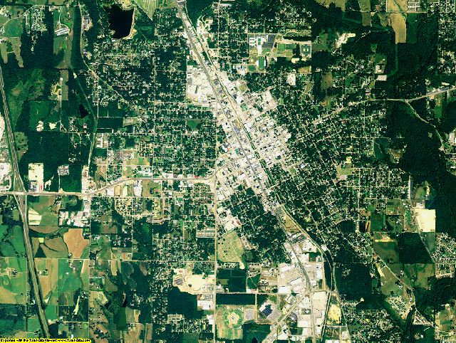 Cullman County, Alabama aerial photography