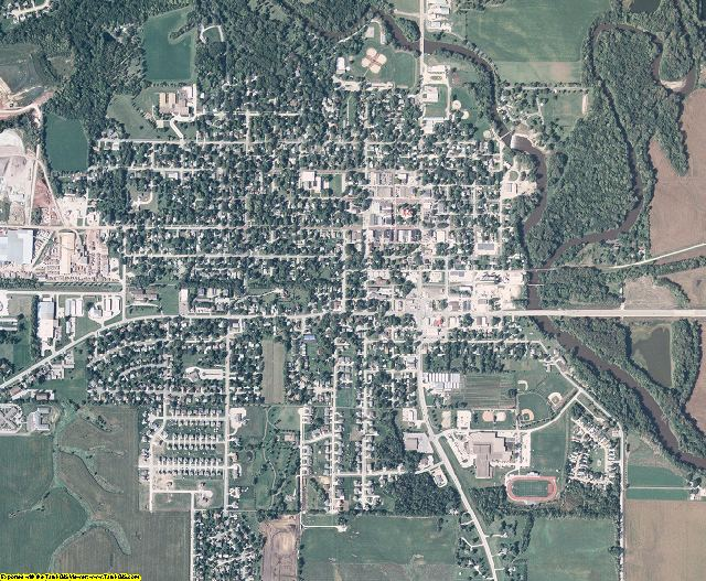 Dallas County, Iowa aerial photography