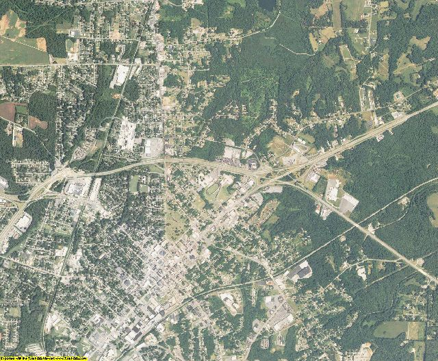 Davidson County, North Carolina aerial photography
