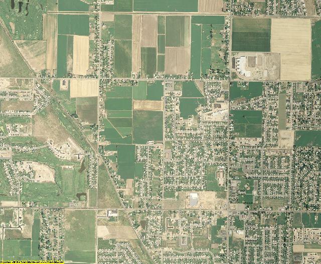 Davis County, Utah aerial photography