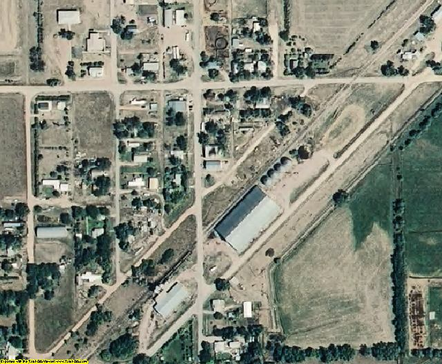 Dawes County, NE aerial photography detail