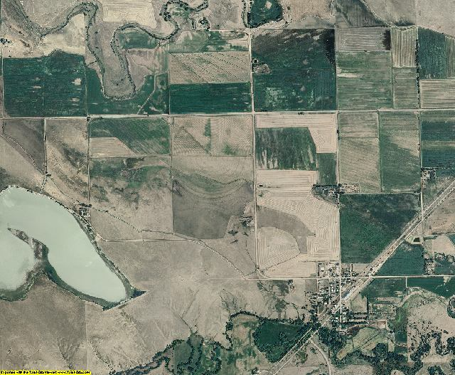 Dawes County, Nebraska aerial photography