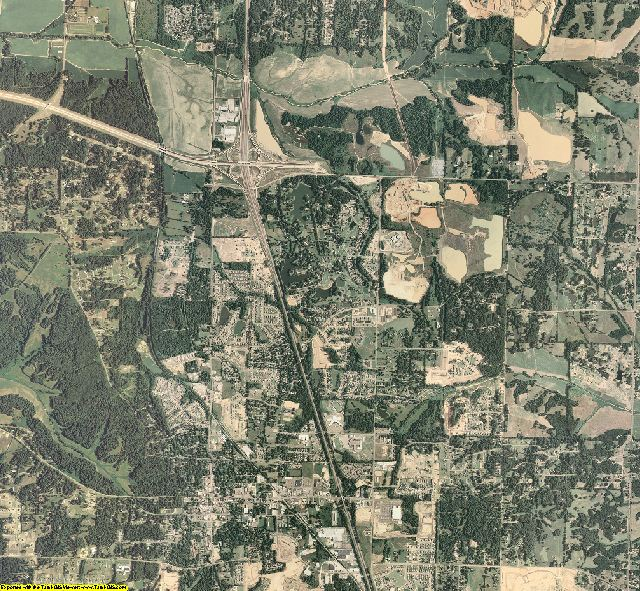 DeSoto County, Mississippi aerial photography