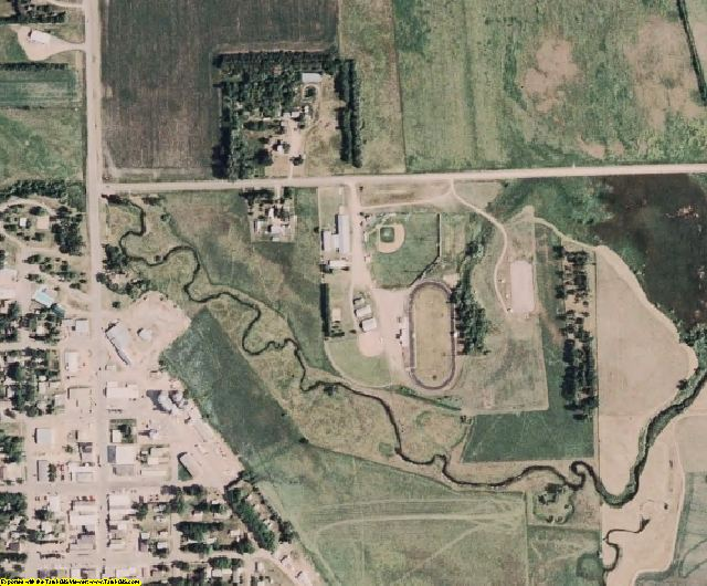 Deuel County, SD aerial photography detail