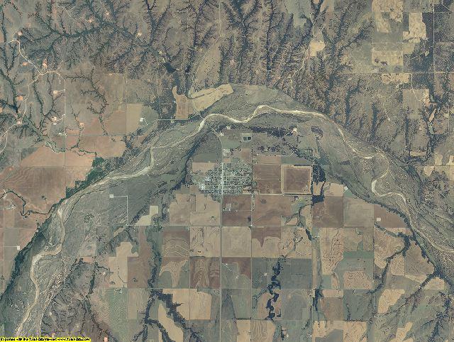 Dewey County, Oklahoma aerial photography