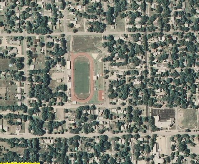 Dickinson County, KS aerial photography detail