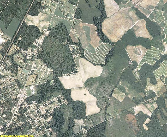 Dillon County, South Carolina aerial photography