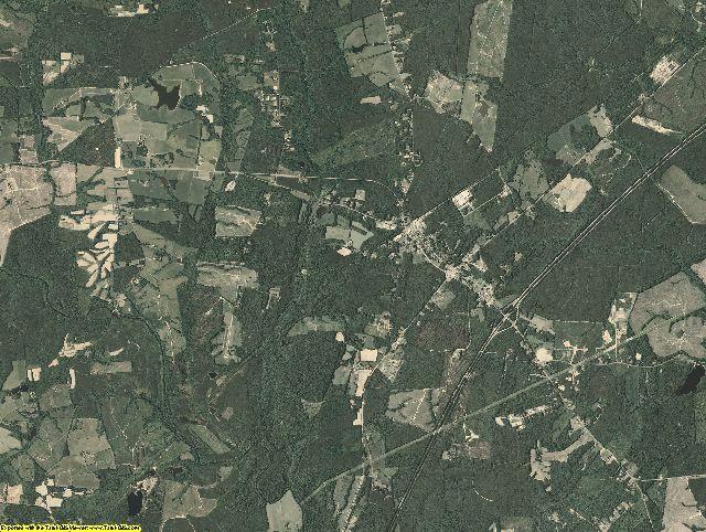 Dinwiddie County, Virginia aerial photography