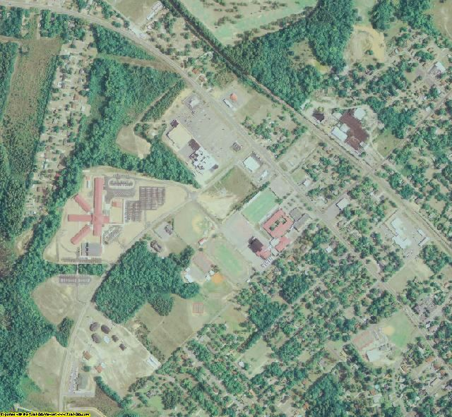 Dodge County, GA aerial photography detail