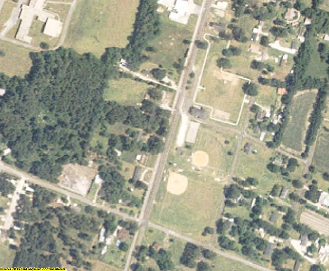 Dorchester County, SC aerial photography detail