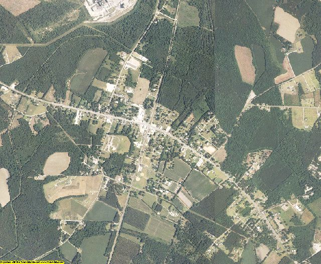 Dorchester County, South Carolina aerial photography