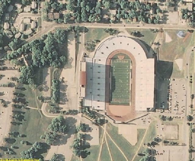 Douglas County, KS aerial photography detail