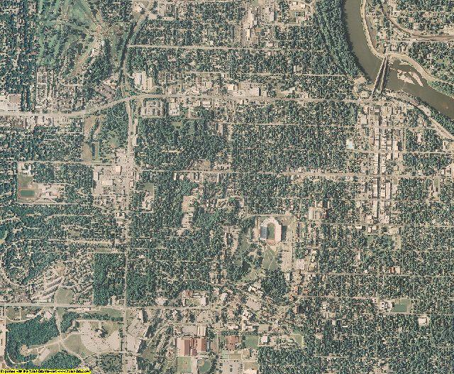 Douglas County, Kansas aerial photography