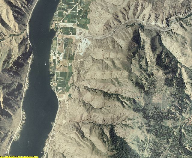 Douglas County, Washington aerial photography