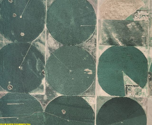 Dundy County, NE aerial photography detail
