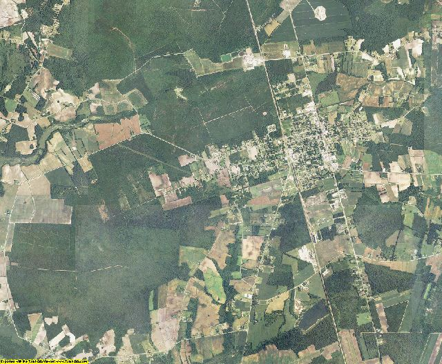 Duplin County, North Carolina aerial photography
