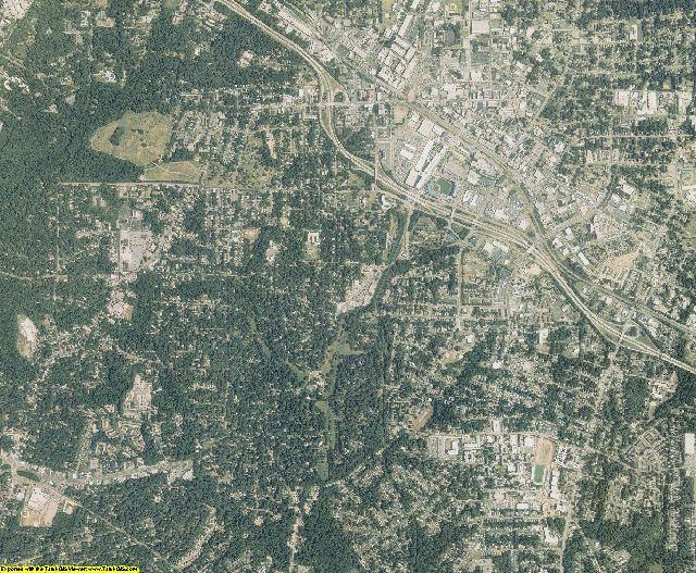 Durham County, North Carolina aerial photography