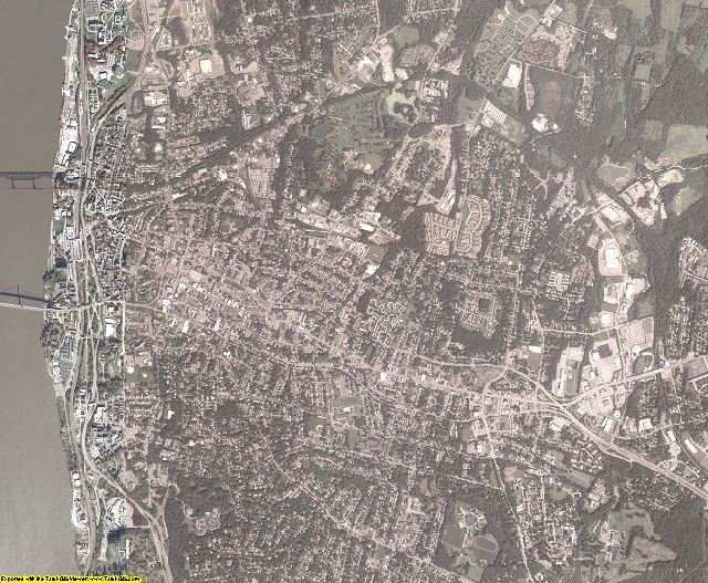 Dutchess County, New York aerial photography