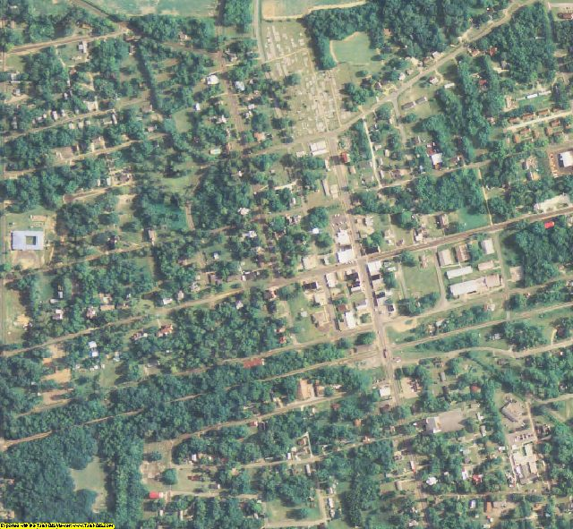 Early County, GA aerial photography detail