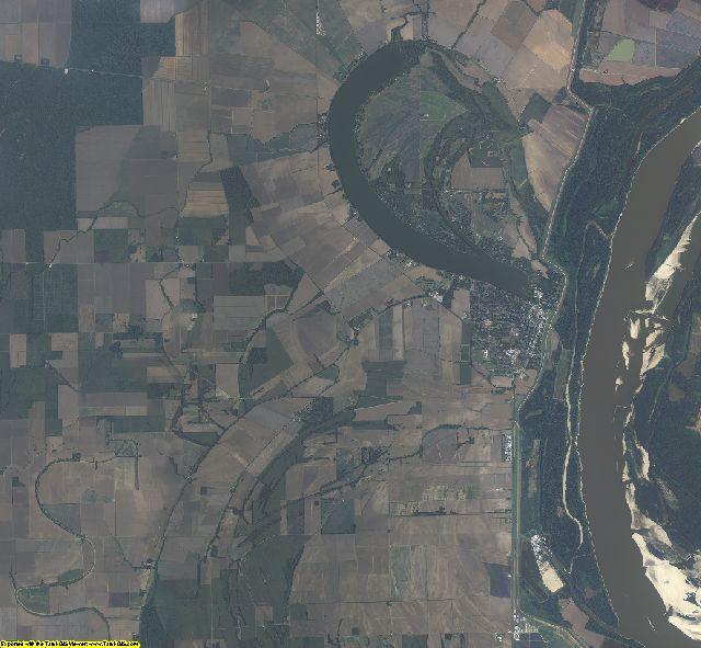 East Carroll County, Louisiana aerial photography