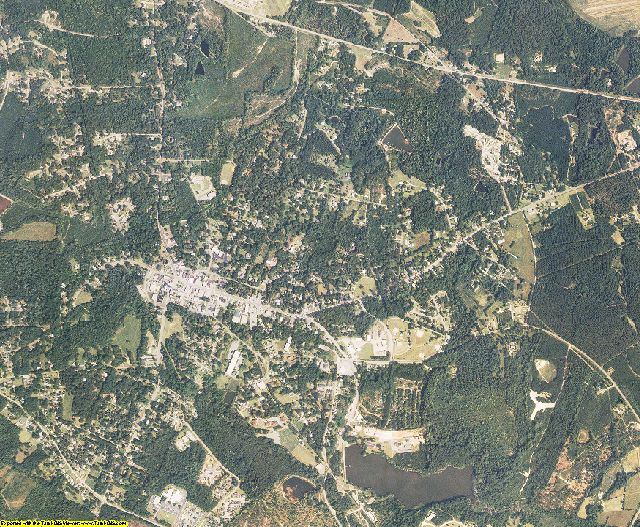 Edgefield County, South Carolina aerial photography