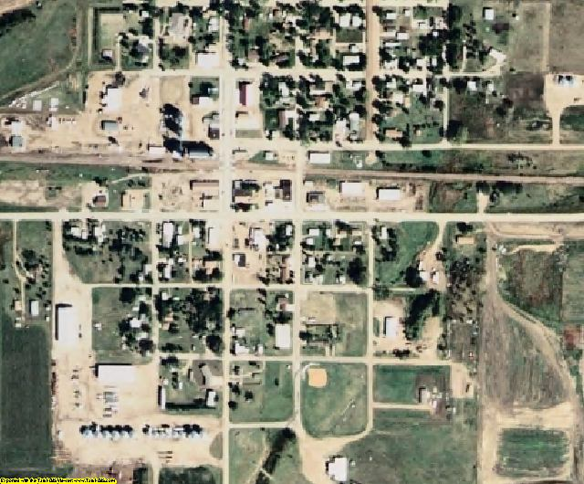 Edmunds County, SD aerial photography detail