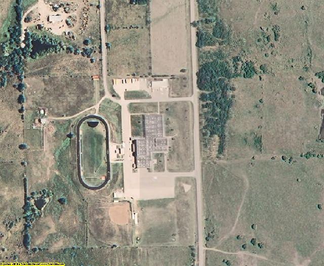 Elk County, KS aerial photography detail