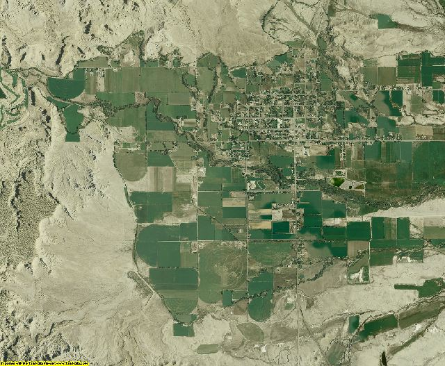Emery County, Utah aerial photography