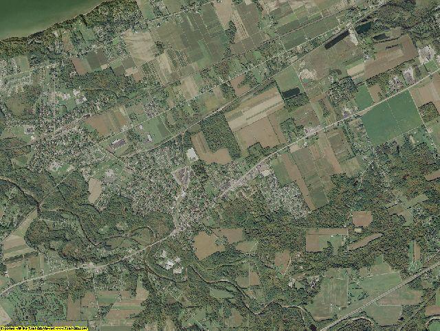 Erie County, Pennsylvania aerial photography