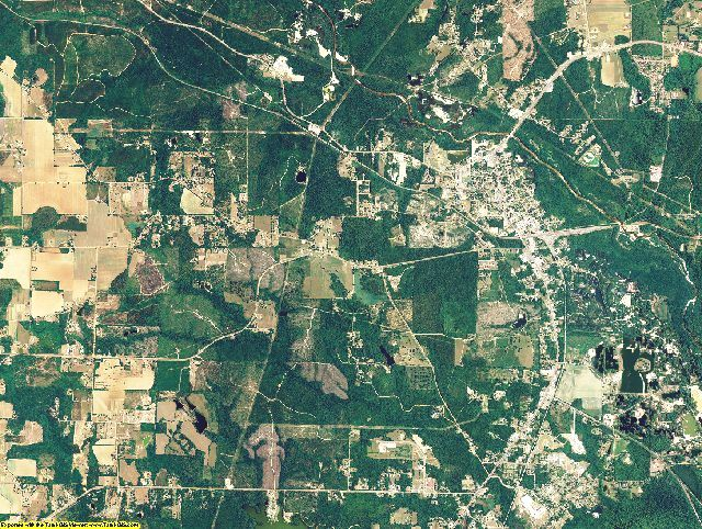 Escambia County, Alabama aerial photography