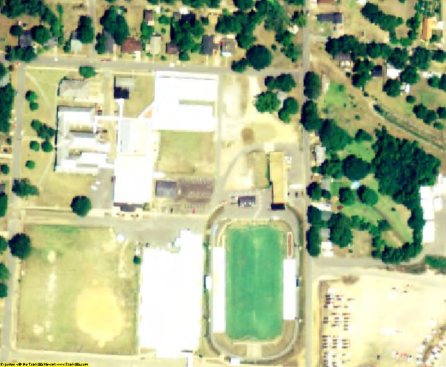 Fayette County, AL aerial photography detail