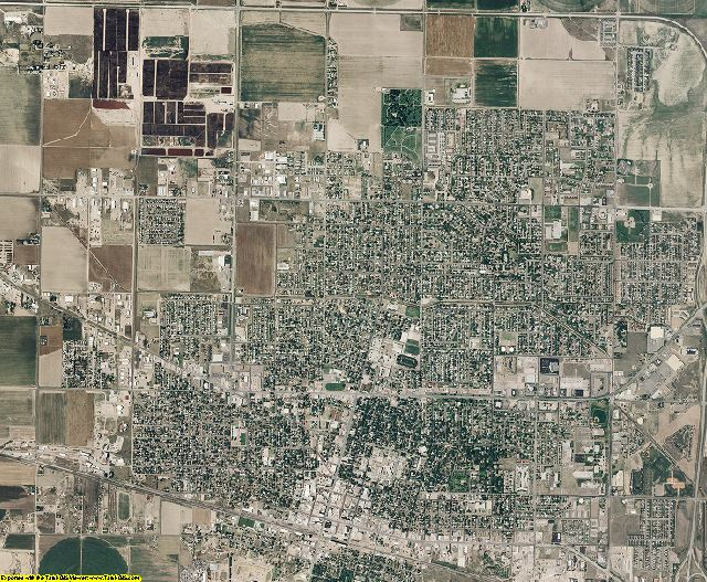 Finney County, Kansas aerial photography