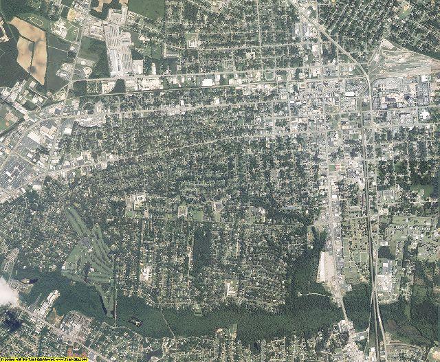 Florence County, South Carolina aerial photography