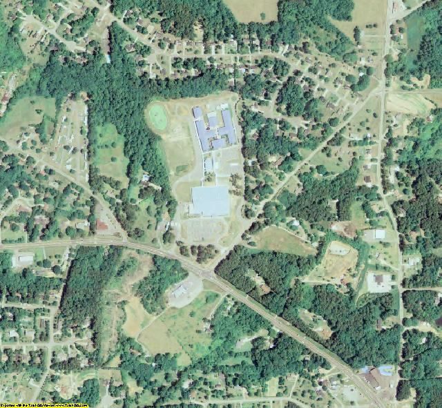 Forsyth County, GA aerial photography detail