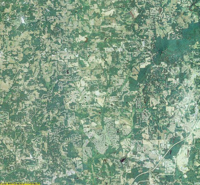 Forsyth County, Georgia aerial photography