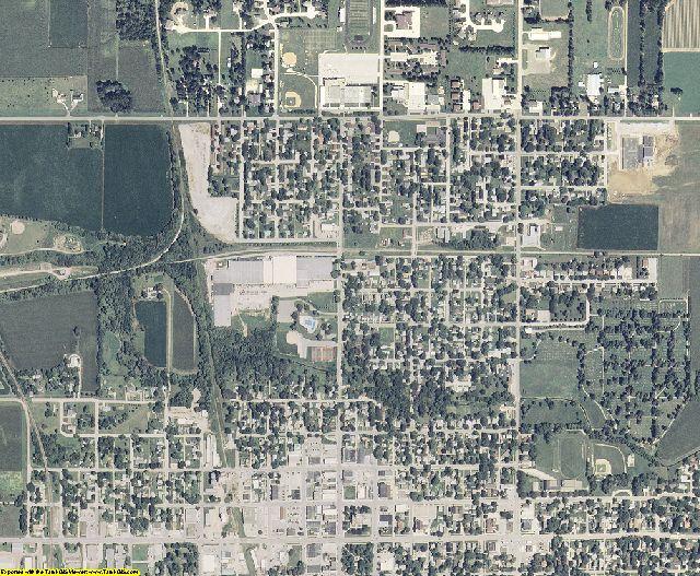 Franklin County, Iowa aerial photography