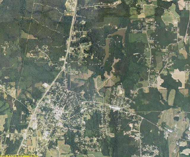 Franklin County, North Carolina aerial photography