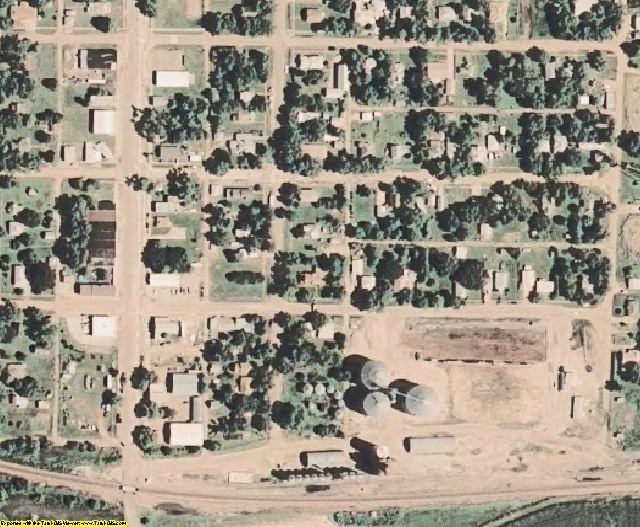 Furnas County, NE aerial photography detail