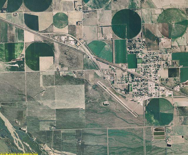 Garden County, Nebraska aerial photography