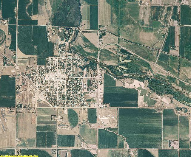 Garfield County, Nebraska aerial photography