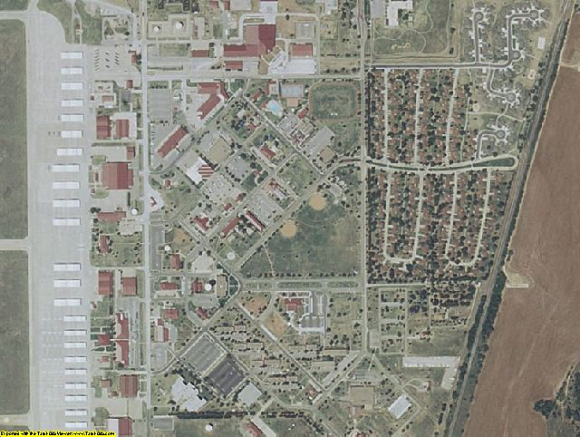 Garfield County, OK aerial photography detail
